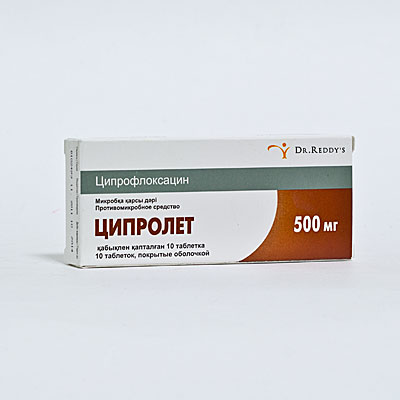 Ciprofloxacin Contraindication