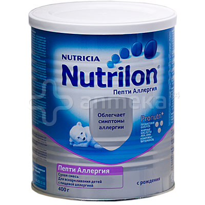 nutrilon пепти аллергия или nestle alfare allergy