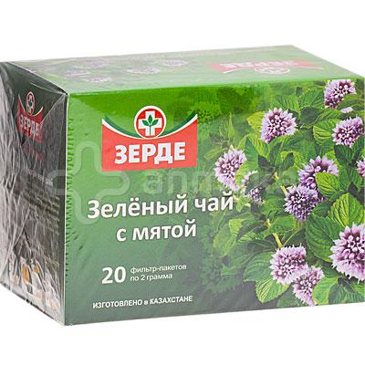 Мята из аптеки в чай