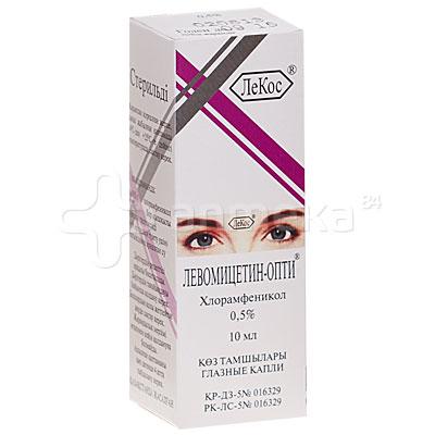 глазные капли левомицетин инструкция по применению: