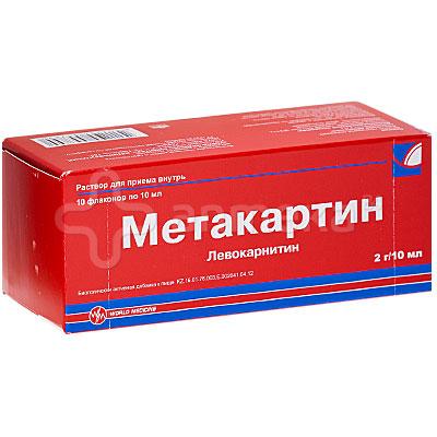 Инструкция метакартин