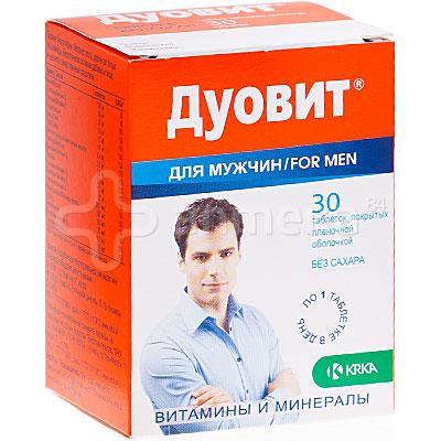 Дуовит для мужчин для волос