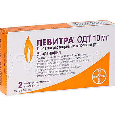 лекарство левитра от чего