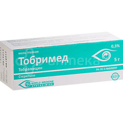Тобримед Мазь Инструкция - фото 5